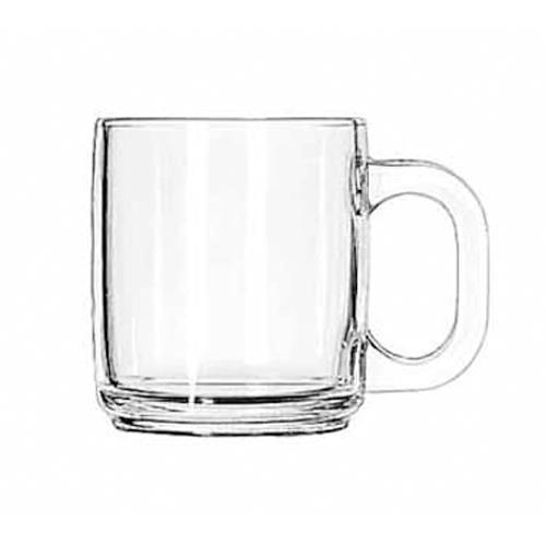 Libbey Glassware - 5201 - 10 oz Glass Coffee Mug - 12 ...