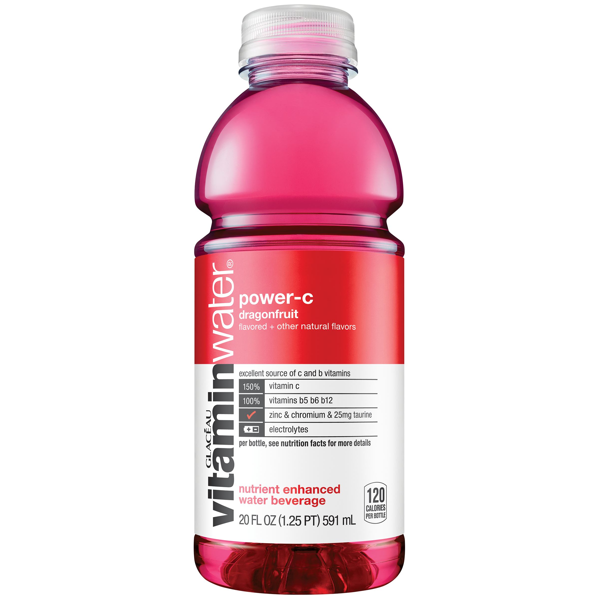 vitaminwater power-c, Dragonfruit, 20 fl oz