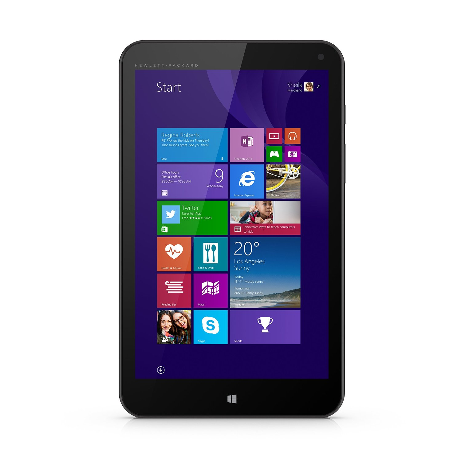 Manufacturer Refurbished - HP Stream 8 5801 Tablet 32GB Intel Atom Z3735G 1.8GHz  Windows 8.1