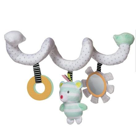 Manhattan Toy Playtime Plush Activity Bear (Activity Plush)