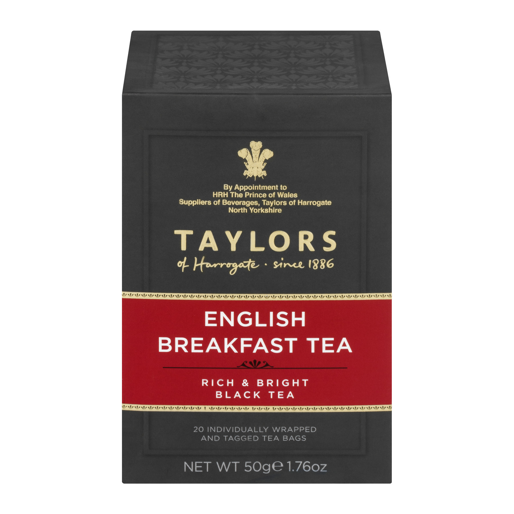 Taylors Of Harrogate English Breakfast Black Tea - 20 CT20.0 CT