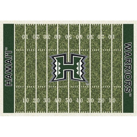 Milliken Ncaa College Home Field Area Rugs Contemporary 01105 Football Sports Novelty Rug
