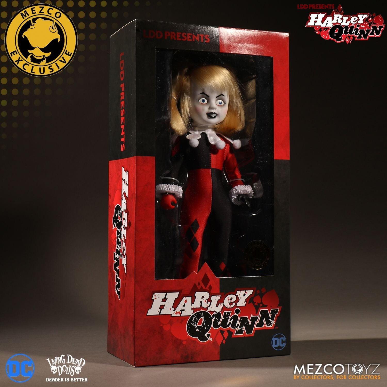 Living Dead Dolls LDD Presents Classic Harley Quinn (Unmasked) Summer 2017 Mezco Exclusive by Mezco Toyz