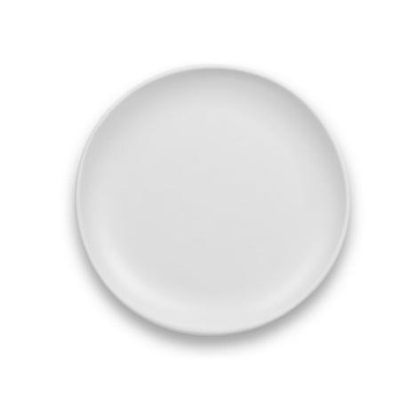 LIFE HAPPENS - MELAMINE MATTE CRAFT COUPE SALAD PLATE 4 PACK