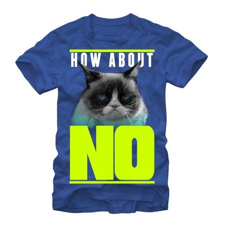 Grumpy Cat Men's How About No T-Shirt](Halloween Meme Grumpy Cat)