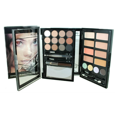 Eyebrow & Concealer Duo (24 Colors) Makeup Beauty Kit](Halloween Makeup Ideas Cat Eyes)