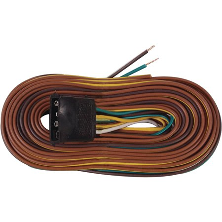 Seachoice 52961 4-Way Wishbone Style Wiring Harness, 25\'
