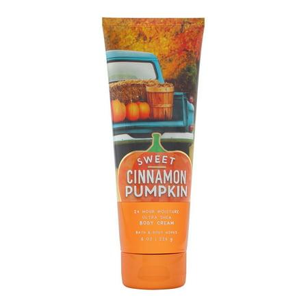 Bath & Body Works Sweet Cinnamon Pumpkin 8.0 oz Ultra Shea Body