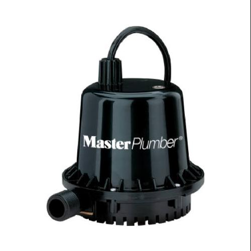 PENTAIR WATER Geyser Jr. Thermoplastic Submersible Utility Pump,  1/10-HP Motor, 390-GPM