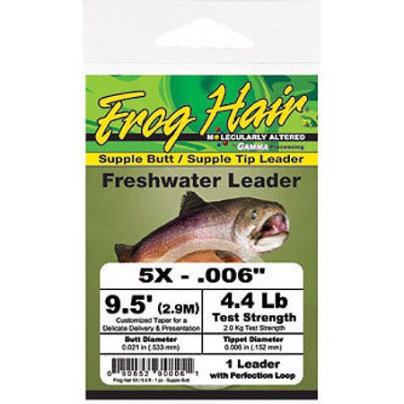 Frog Hair 9.5' Supple Butt / Supple Tip Tapered (Best Way To Get Rid Of Butt Hair)