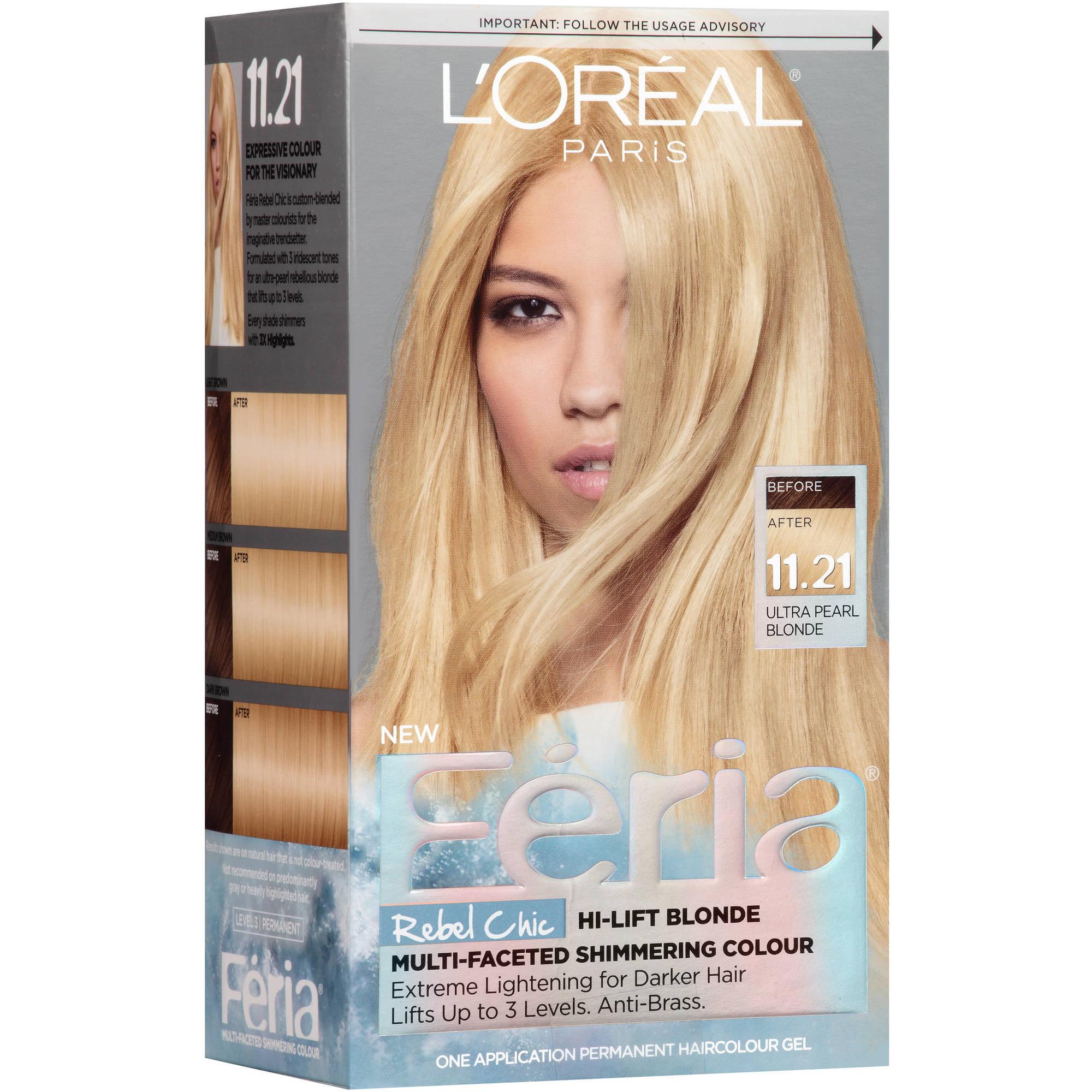 L'Oreal Paris Feria Rebel Chic Permanent Hair Color Gel ...