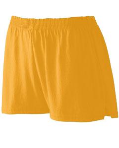 Augusta Sportswear Girls Trim Fit Jersey Short, Royal, Small