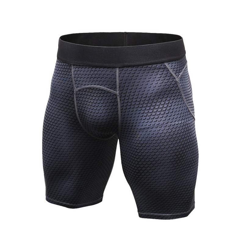 Mens Gym Compression Underwear Tight Stretchy Fitness Training Shorts Quick Dry
