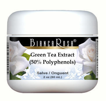 Green Tea Extract (50% Polyphenols) (6% Caffeine) - Salve Ointment (2 oz, ZIN: 514385)