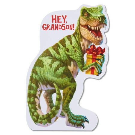 American Greetings Dinosaur Birthday Card for Grandson ...