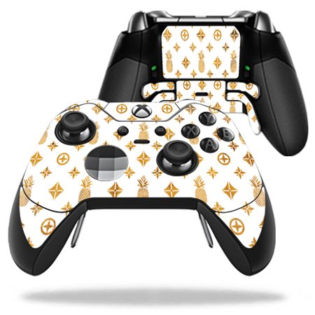 Gold Glossy Decal Skin Sticker for Microsoft Xbox One ... |Gold Xbox One Controller Skin