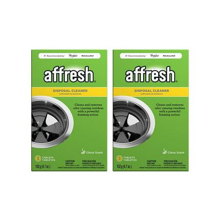 Affresh Citrus Scent Disposal Cleaner Tablets, 6