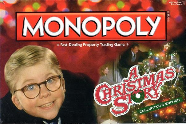 Monopoly Christmas Story Edition Collector's Edition SW (MINT New) by USAopoly