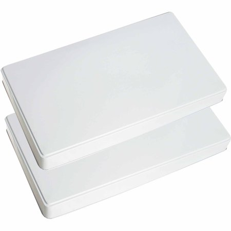 Range Kleen 2-Piece Burner Kover Set, Rectangle Range Kleen 2-Piece Burner Kover Set, Rectangle:2-piece White Rectangle Burner Kover SetMeasures 21  x 11.75  x 1.75 Perfect for gas stovesGreat addition for your kitchen