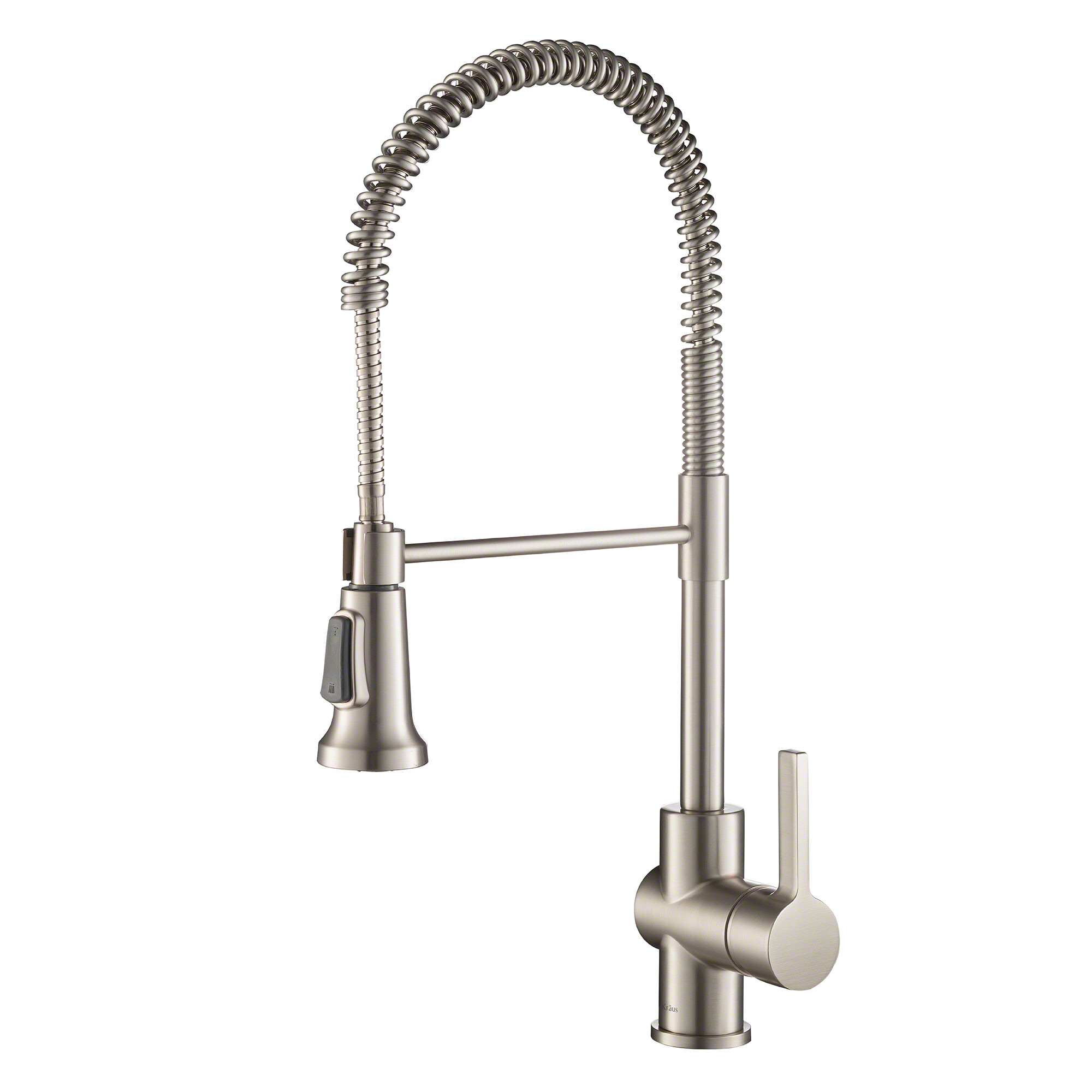 Kraus Britt Single Handle Commercial Kitchen Faucet With Dual