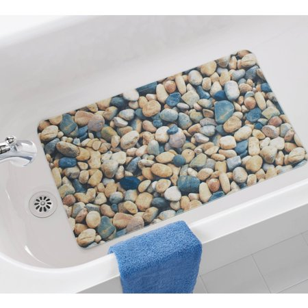 Mainstays Stones Bath Mat Walmart Com