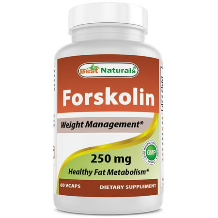 Best Naturals, Forskolin 250 mg 60 Capsules - Weight Loss