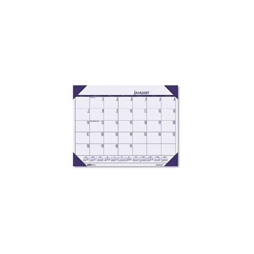 House of Doolittle HOD12473 Desk Pad  Cordovan Holder-Orchid the product will be for the current year