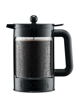 Bodum Bean Cold Brew Press and Iced Coffee Maker, 51 Oz., 51 Ounce, Black