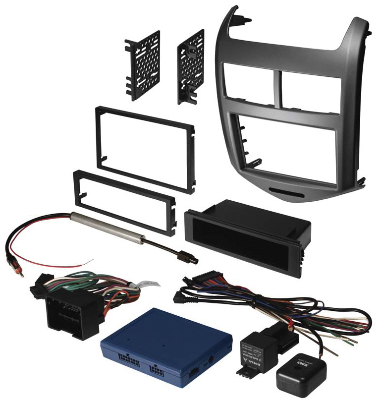 American International 2012-13 Chevy Sonic Install Kit with interface