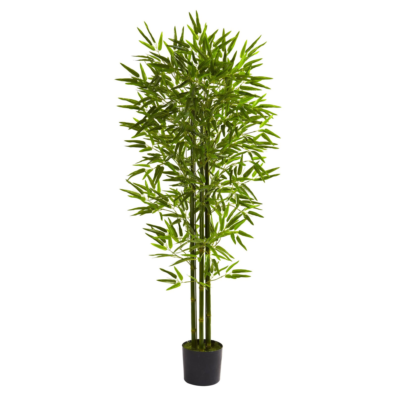 Nearly Natural 5' Bamboo Tree, UV Resistant, Indoor and Outdoor