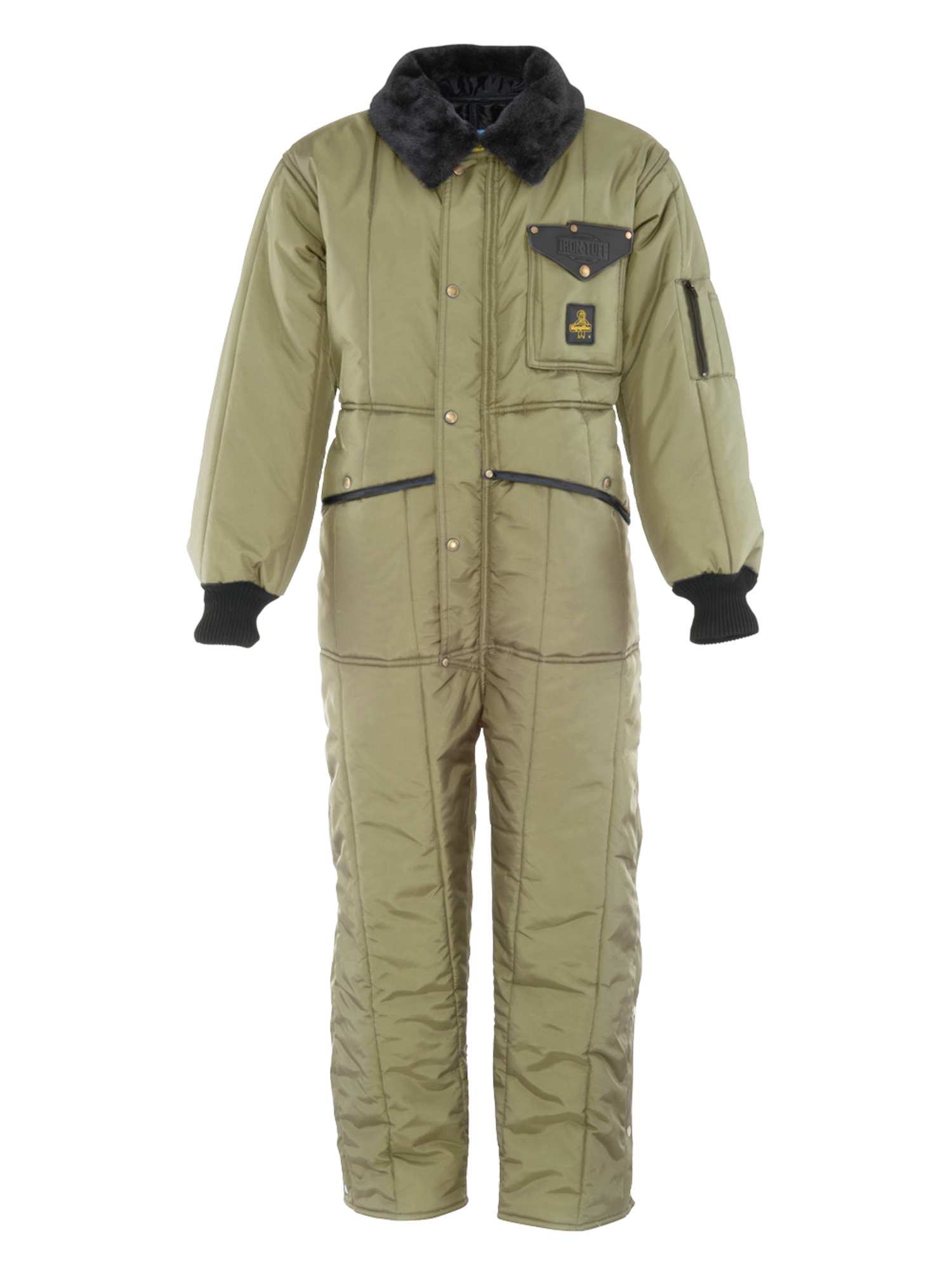 RefrigiWear Men's Iron-Tuff Insulated Coveralls -50 Extreme Cold Suit by RefrigiWear