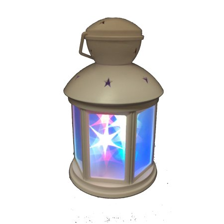Battery-Operated 3D Lantern Lamp; Size: 8.25