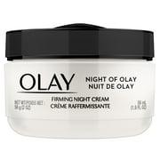 Olay Active Firming Night Cream for Women, Non-Greasy, 1.9 oz