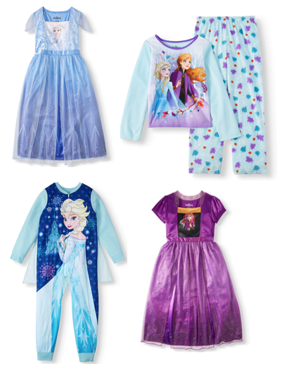 Shop Girl's Frozen Fall Pajama Collection