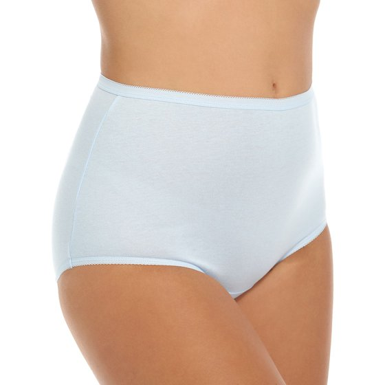 89634738e21278 Vanity Fair - Women's 15318 Perfectly Yours Tailored Cotton Brief ...