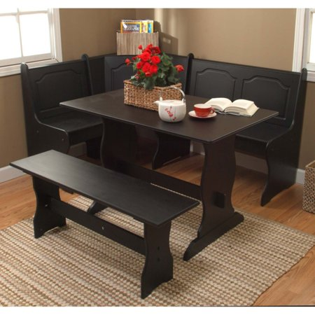 Upholstered Breakfast Nook (Target Marketing Systems 3 Piece Breakfast Nook Dining)