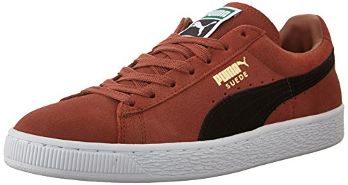 PUMA Men's Suede Classic Fashion Sneakers, Arabian Spice/Black, 7.5 D US