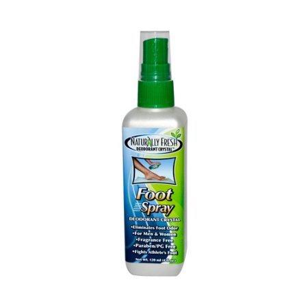 Naturally Fresh Foot Spray Deodorant, 4 Oz