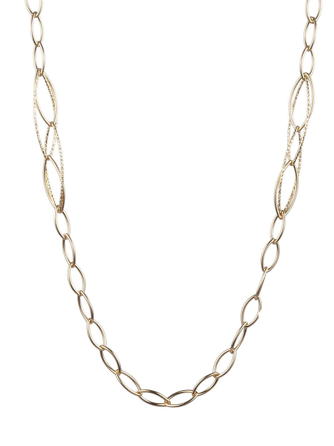 Goldtone Long Chain Necklace
