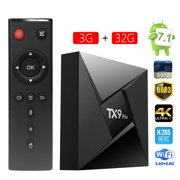 TX9 Pro Android 7.1 TV box Amlogic S912 Octa core 3GB DDR3 /32GB the latest smart Tv box