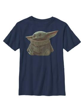 Star Wars The Mandalorian Boys' The Child Portrait T-Shirt