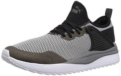 PUMA Men's Pacer Next Cage GK Sneaker, Black Black, 7.5 M US