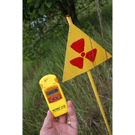 Canvas Print Dosimeter Radiation Safety Geiger Counter Stretched Canvas 10 x