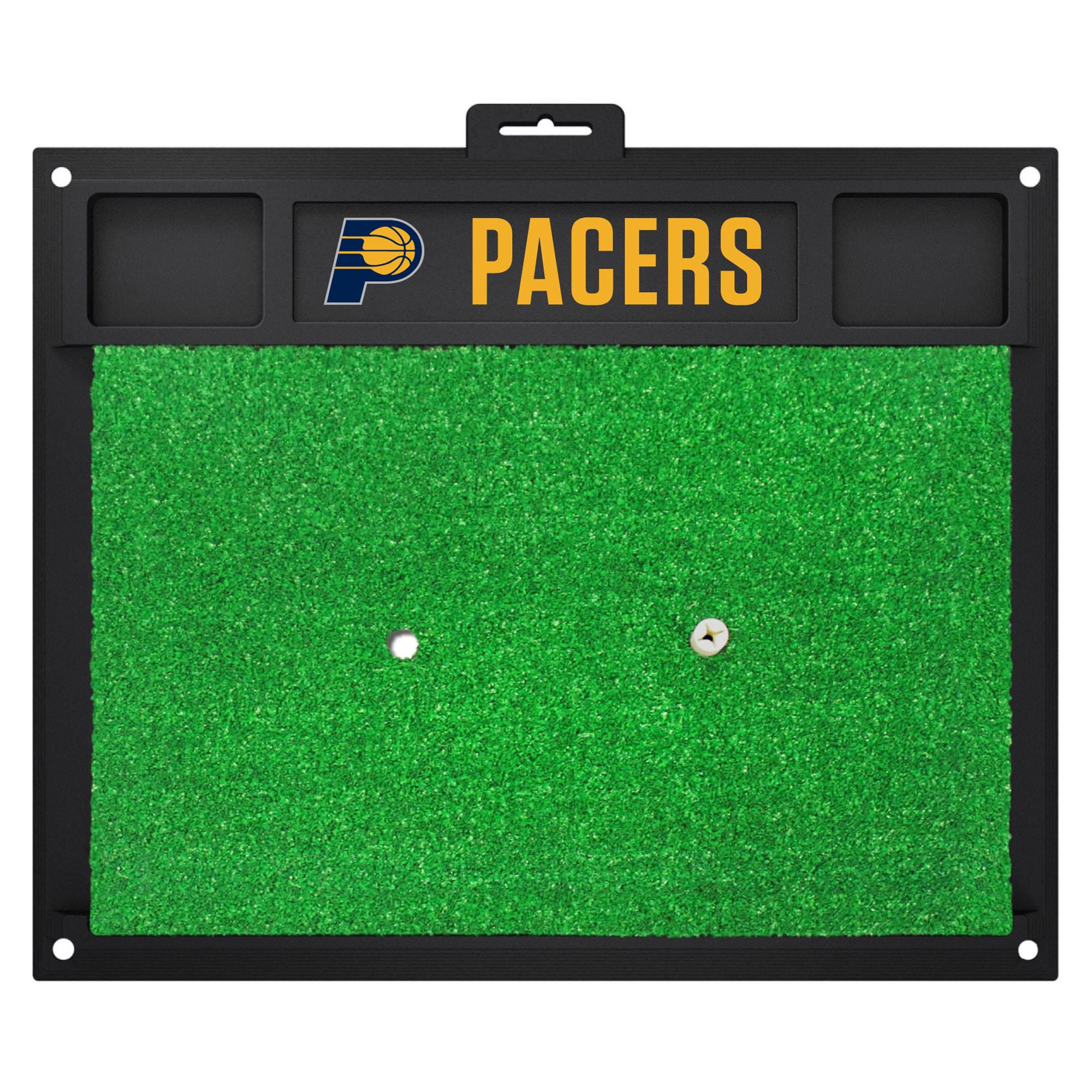 NBA Indiana Pacers Golf Hitting Mat Golf Practice Accessory