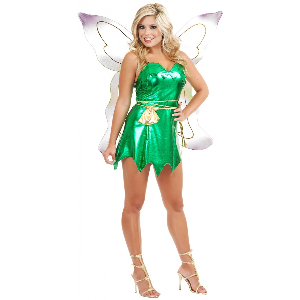 Tinker Bell Adult Costume - Small