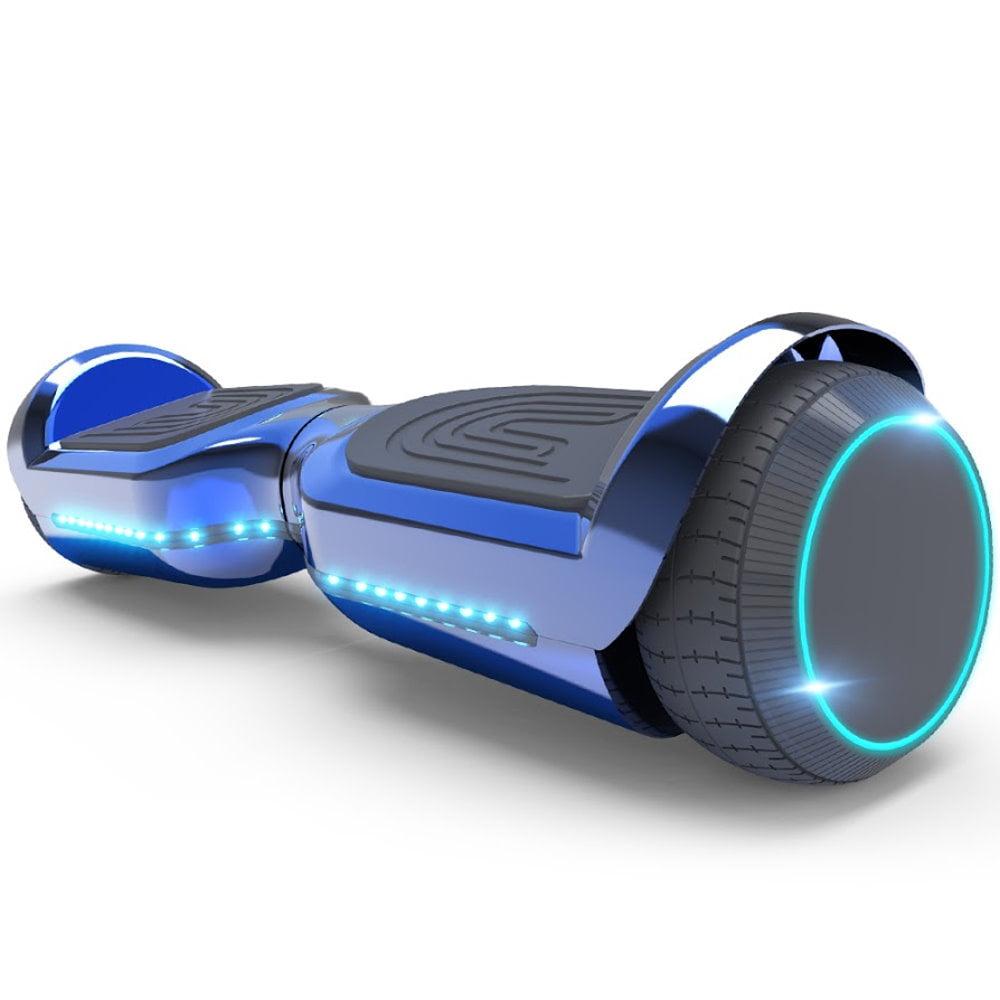HappyBoard Hoverboard 6.5 Patinete El/éctrico Bluetooth Monopat/ín Scooter autobalanceado Ruedas de Skate con luz LED Motor Bluetooth de 700W para ni/ños y Adultos