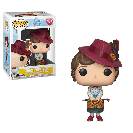 Funko POP! Disney: Mary Poppins - Mary with Bag (Merry Pop)