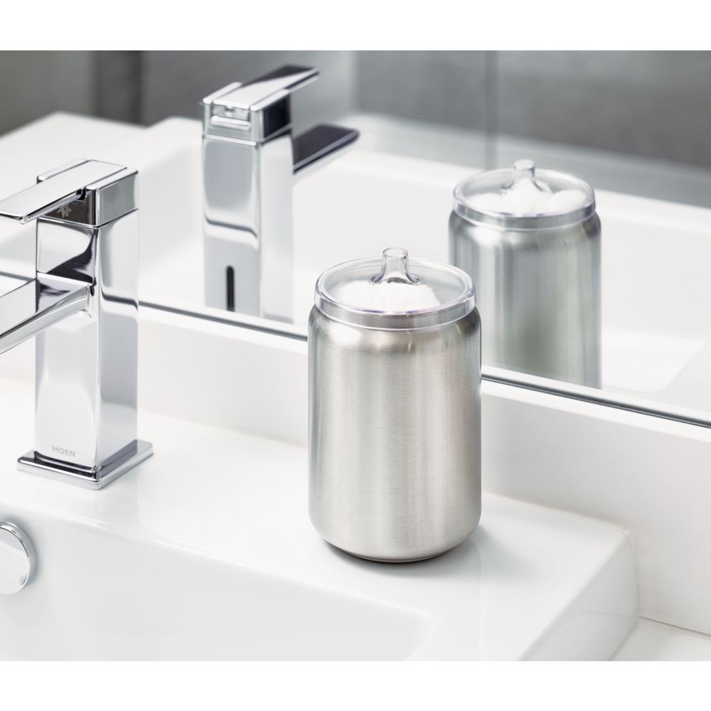 iDesign Austin Canister with Lid, Brushed