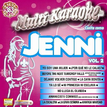 Karaoke: Jenni Rivera 2 - Exitos (CD) (Juan Lopez Esposo De Jenni Rivera Fotos)