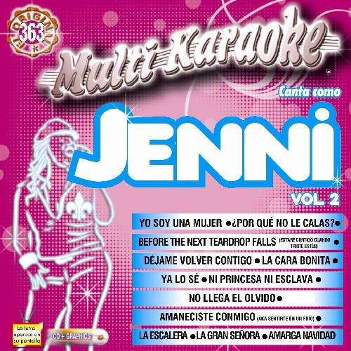 Karaoke: Jenni Rivera 2 - Exitos (CD)